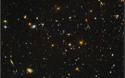 早期宇宙中的星系 (Galaxies found in early Universe)