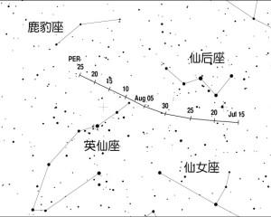2012年 英仙座 (Perseids) 流星雨