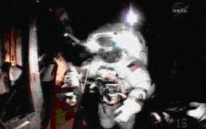 馬拉松在太空