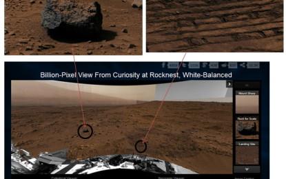 火星超高解像度地貌