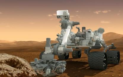 好奇號火星車成功降落火星
