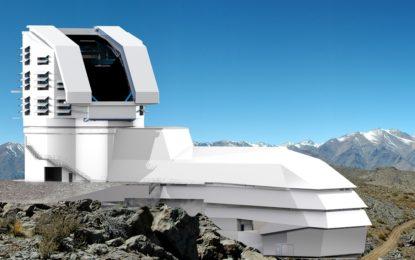 新世代天文台建設中