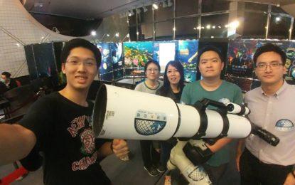【活動回顧】香港太空館「月球觀測」活動