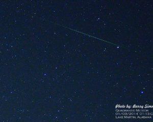 2020年1月4日象限儀座流星雨(Quadrantids)